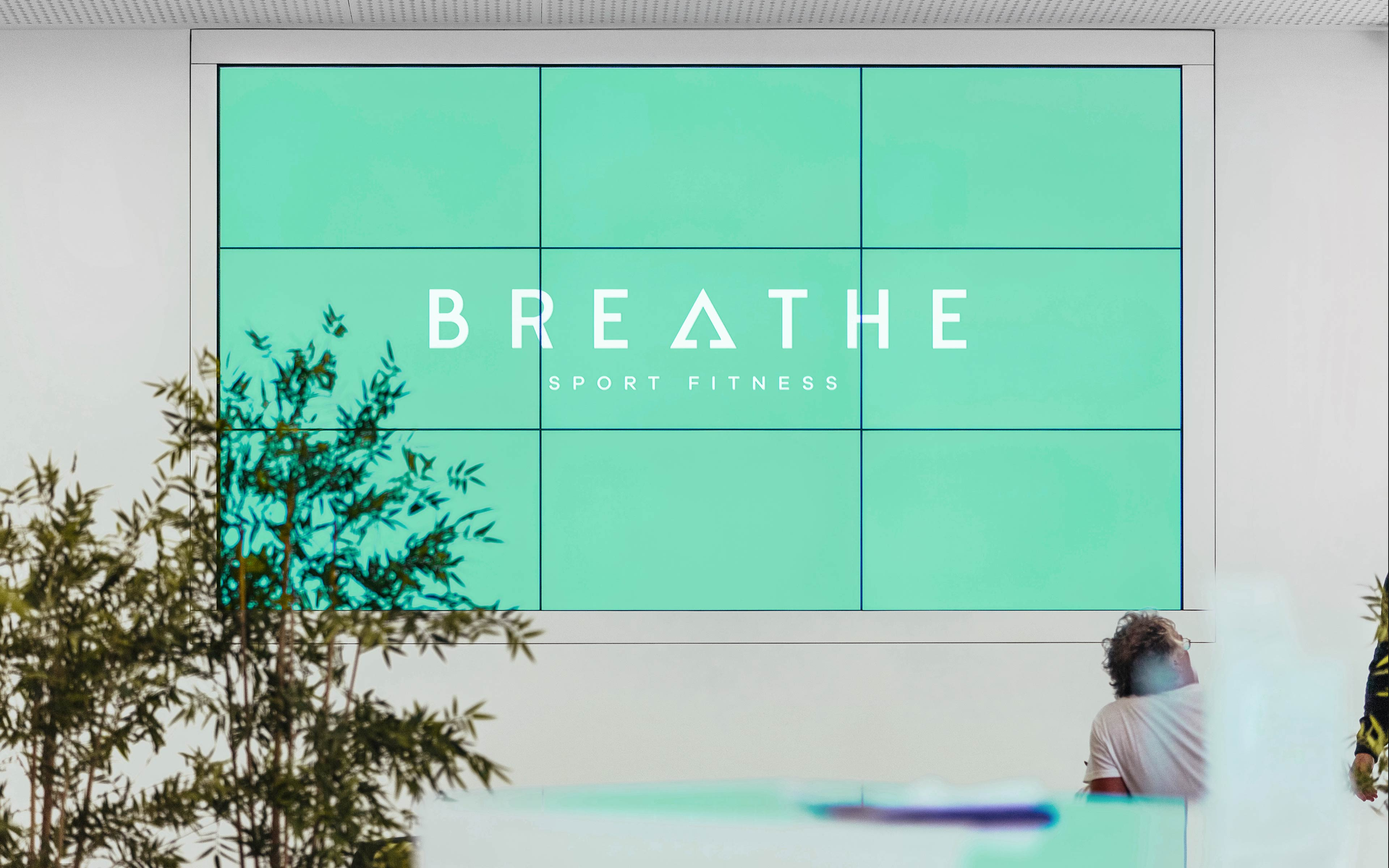 Parede Breathe Sport Fitness