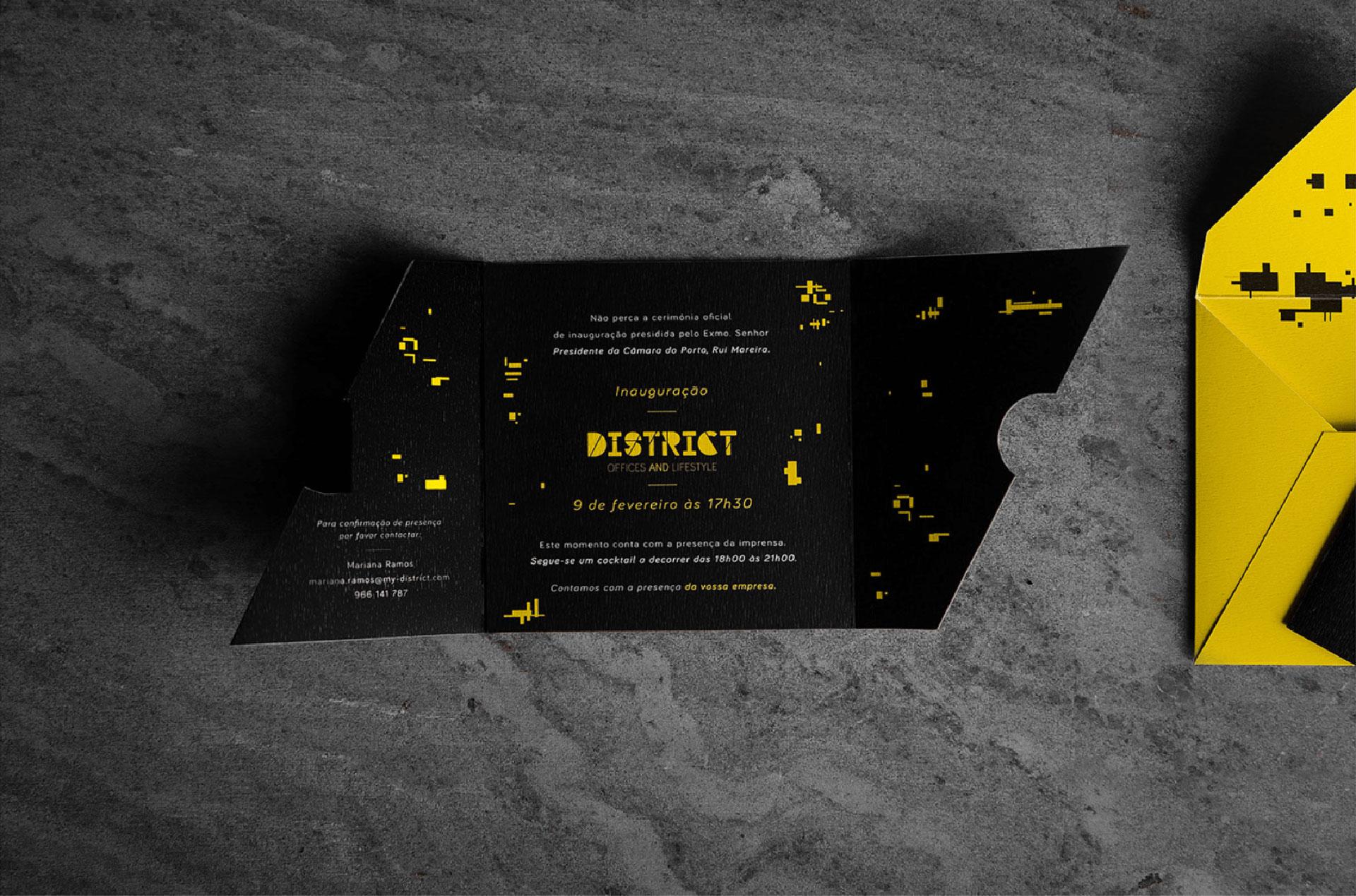 District - Inauguração